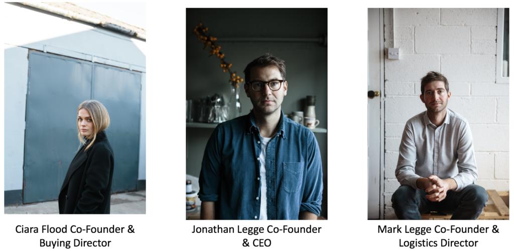 Ciara Flood, Jonathan Legge and Mark Legge