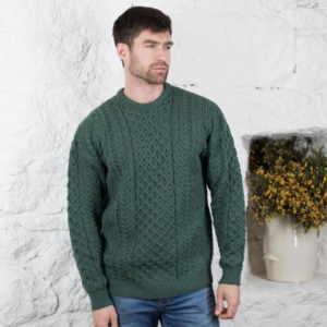 Classic Men's Aran Sweater