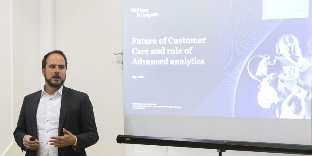 Julian Raabe, Expert Partner in CX and automation, McKinsey