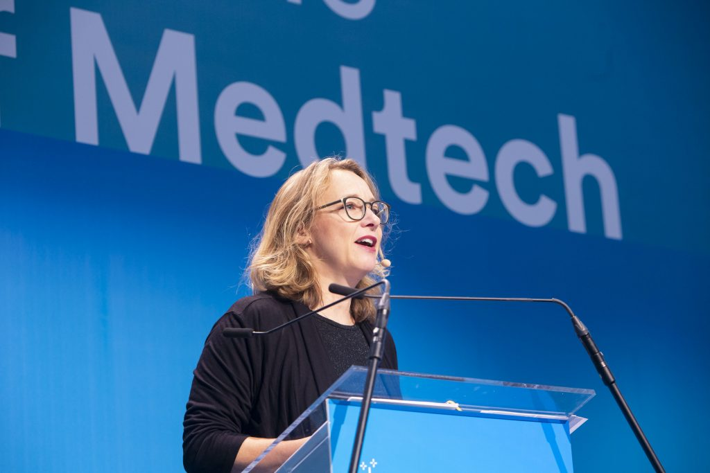 Tanja Valentin, Director of Governor Affairs and Policy for MedTech Europe